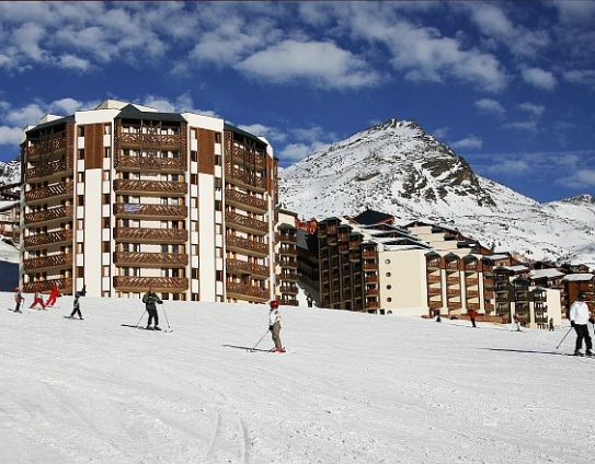 Ski Slope Apartments-Les Temples du Soleil-Val Thorens-France