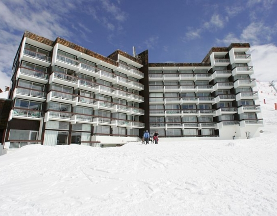 Ski Slopes Accommodation-Le Gypaete-Val Thorens-France