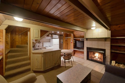 Example of a Cascade Suite at the Douglas Fir Resort and Chalets - Banff