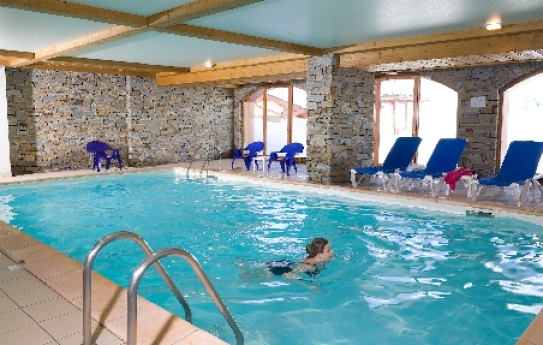 Indoor heated pool - Les Chalets de L'Adonis - Les Menuires