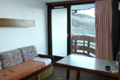 Sitting Area with balcony - Tourotel - Val Thorens