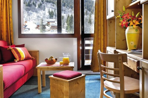 Example of a studio apartment with valley view at Le Peillon in Meribel