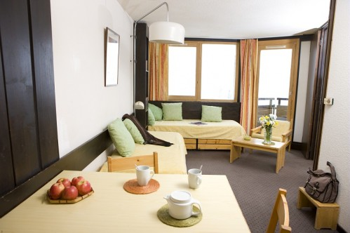 1 Bedroom Apartment-   L'Hermine - (Avoriaz 1800)