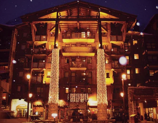 The Alpina Lodge in the centre of Val d'Isere