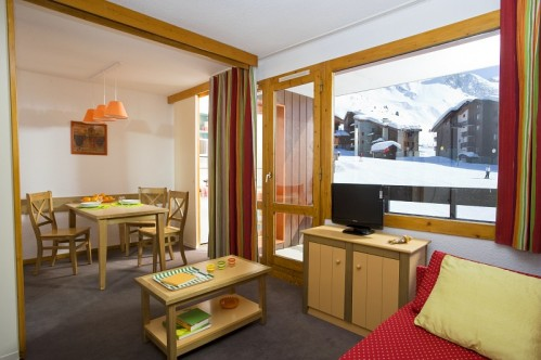 main room with view - Les Chalets des Arolles - Belle Plagne