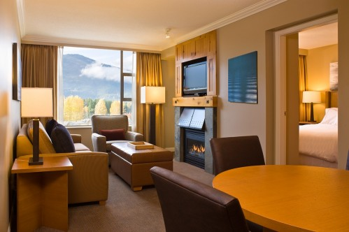 One Bedroom Suite at the Westin Resort & Spa Whistler