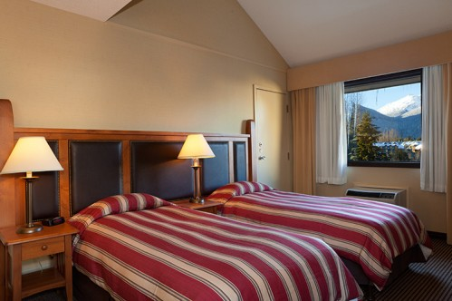 An example of a Hotel Room in Blackcomb Lodge, Whistler, Canada