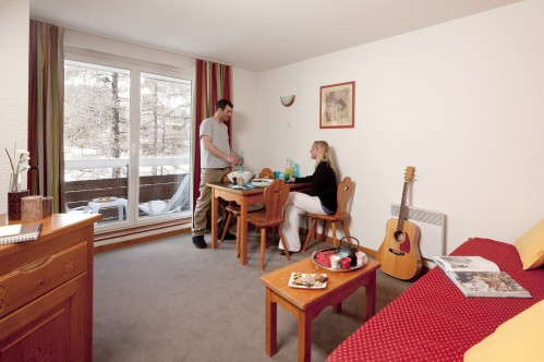 1 Bedroom Apartment - Sleeps 6 - Résidence Pic de Chabrières - Vars