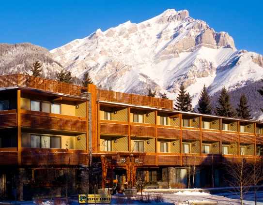 The Banff Aspen Lodge in the winter - Banff - Canada