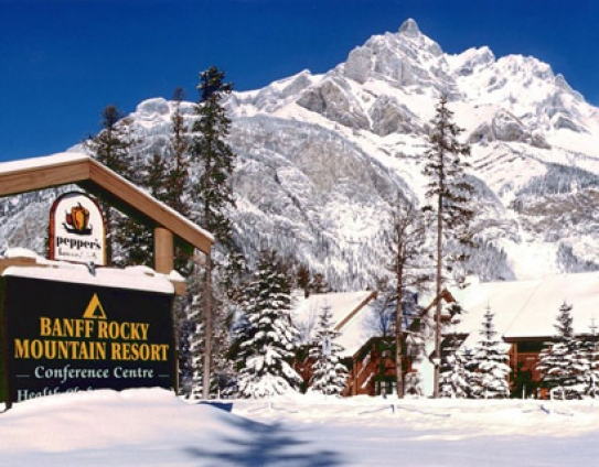Banff Rocky Mountain Resort - Banff - Canada