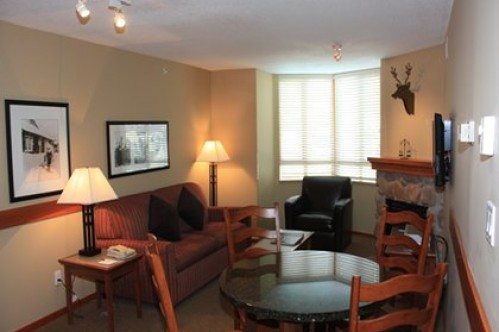 An example of a One Bedroom Condo - Whistler Cascade Lodge Gotel -