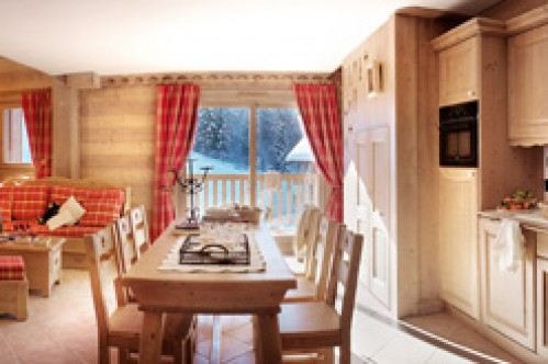 An example of a 2 Bedroom Silver Apartment in Le Village de Lessy, Le Grand-Bornand/ Chinaillon, France
