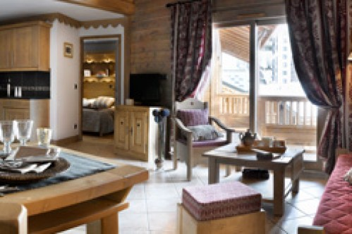 An example of a 4 bedroom apartment in Le Village de Lessy, Le Grand-Bornand/ Chinaillon, France
