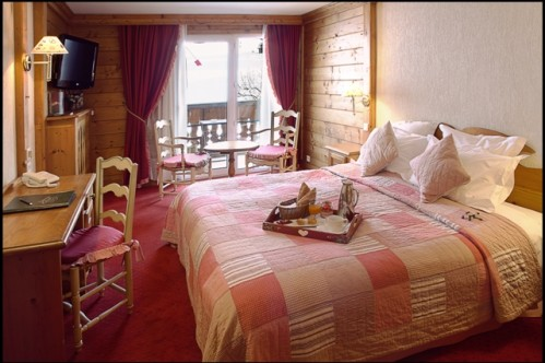 Double superior room; Copyright: Hotel La Marmotte