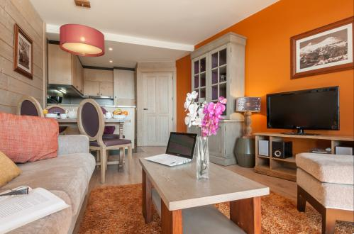 An example of a one bedroom apartment in L'Amara, Avoriaz