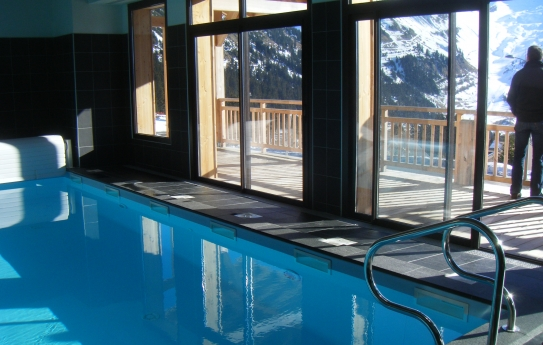 Swimming Pool -  Résidence Le Refuge du Golf - Flaine