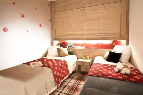 Twin Bedroom, Residence Les Crozats, Avoriaz, France