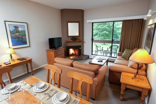 The Lounge Area of a Two Bedroom Suite - Tantalus Lodge - Whistler