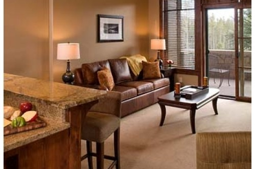 An example of a 1 Bedroom Condo a the Crystal Peak Lodge in Breckenridge