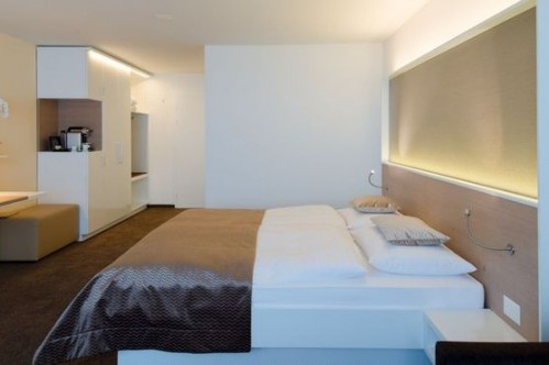 An example of a Superior Double/ Twin Room in the Hotel Waldegg