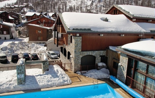 Heated Outdoor Pool - Les Chalets de Solaise - Val d'Isere