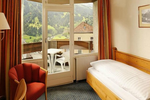 The Single Room in the Hotel Derby - Grindelwald