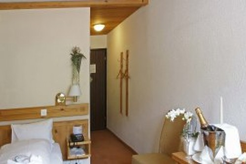 Standard Single Room in the Hotel Sunstar - Grindelwald