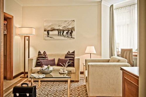 An example of a Classic Junior Suite at  the Classic Junior Suite  - St Moritz