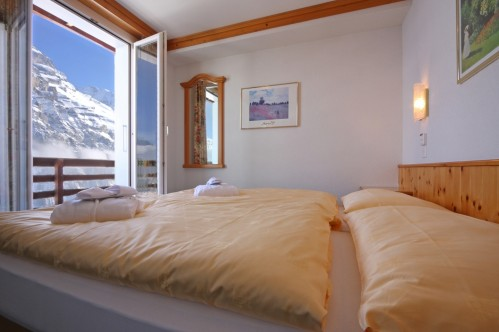 An example of a Superior Double Room in the Hotel Eiger in Murren