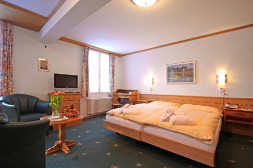 A Standard Room in the Hotel Eiger - Murren