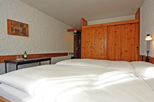 An example of a double or twin room at the Hotel Hauser