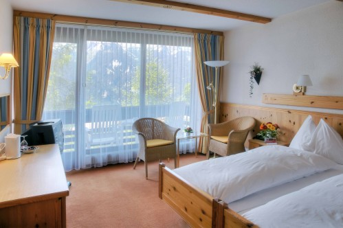 A Superior Double Room - Sunstar Hotel Wengen