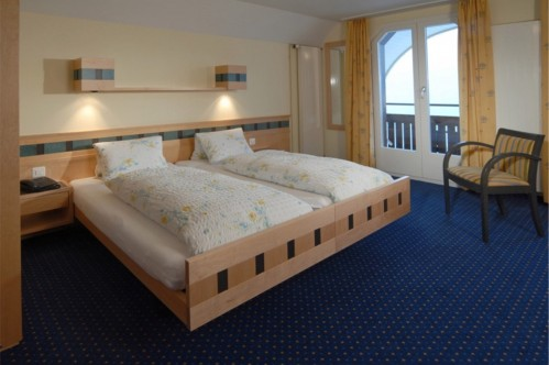An idea of a Single Room in the Hotel and Spa Victoria-Lauberhorn - Wengen