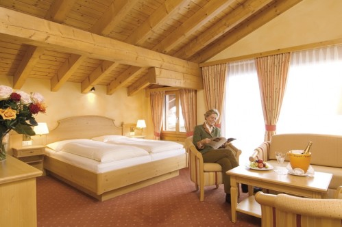 A Superior Double or Twin Room in the Silvretta Parkhotel - Klosters