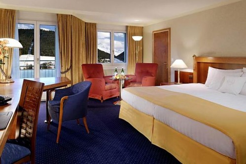 An example of a standard Double Room at the ArabellaSheraton Hotel Seehof, Davos