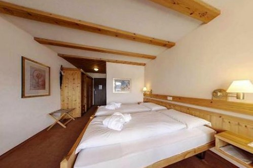 An example of a Superior Twin Room at the Hotel Sunstar Park in Davos