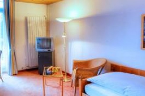 A Superior Single Room in the Sunstar Hotel Flims - Switzerland