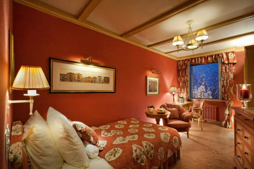 An example of a Classic Single Room in the Gstaad Palace