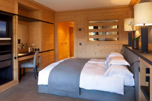 A Double Room in the Grand Hotel Park - Gstaad