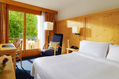 An example of a Classic Double Room at the Sheraton Davos Hotel Waldhuus