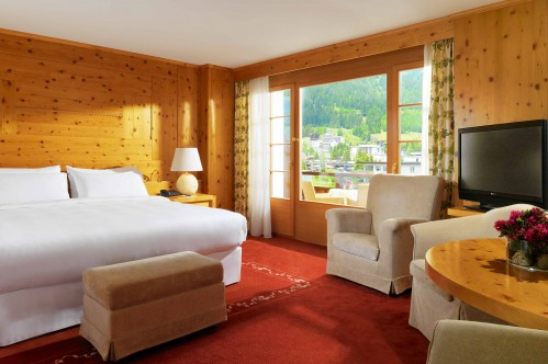 An example of Superior Double Room at the Sheraton Davos Hotel Waldhuus