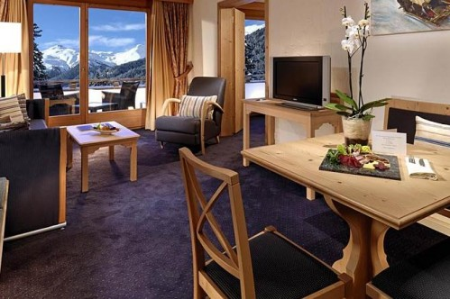 An example of a Classic Single Room at the Sheraton Davos Hotel Waldhuus