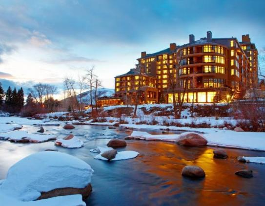 Westin Riverfront Resort & Spa in the Winter in Avon near Beaver Creek