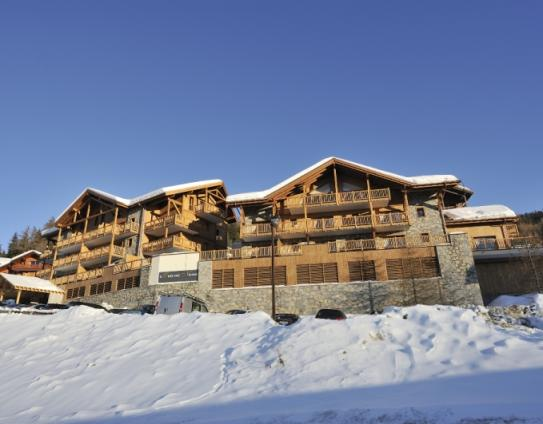 An exterior artist's impression of L'Oree des Neiges, Vallandry, France