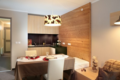 Residence Lune Argent - Apartment kitchen - Megeve