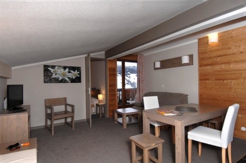 Residence Lune Argent - Living area - Megeve
