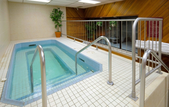 Excellent leisure and fitness facilities - Banff International Hotel - Banff