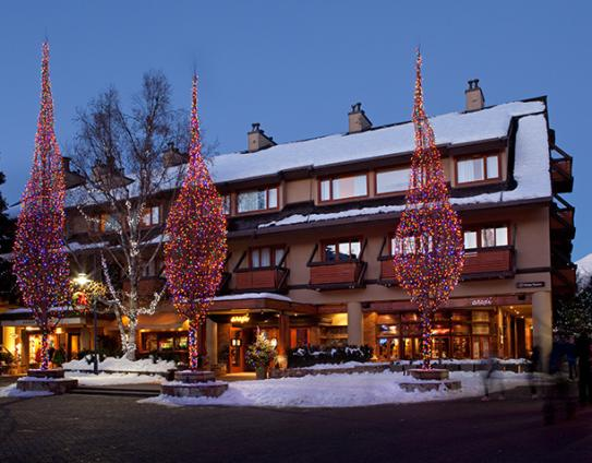 Blackcomb Lodge, Whistler Village, Whistler, British Columbia, Canada