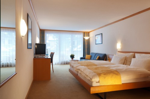 A Double Room - Hotel Tschugge - Zermatt - Switzerland