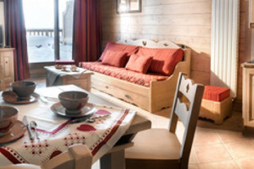 One Bedroom Cabin Apartment - Le Coeur d'Or - Bourg St Maurice - Les Arcs - France